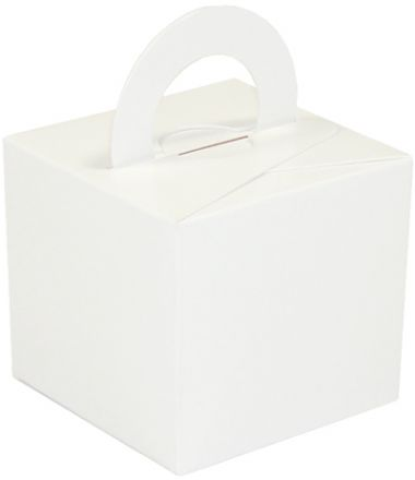 White Cardboard Box Weight